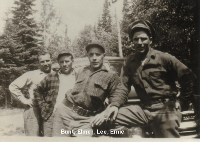L to R_ Ervin, Elmer, Lee